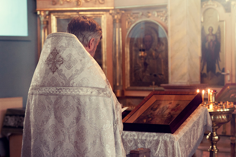 Catholicism priest contradicts the Bible